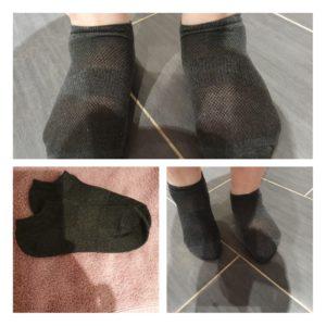 Sneaker Socken grau gr.38