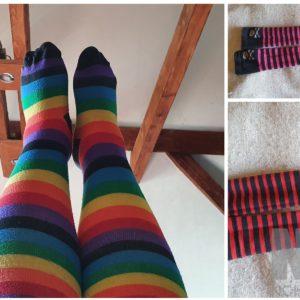 Overknee Socken 1 Paar