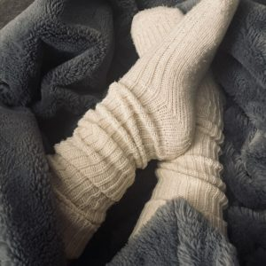 Beige wintersocken 💋