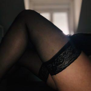 Sexy Nylons in schwarz