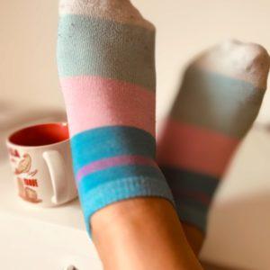 Verschwitzte, dreckige Socken