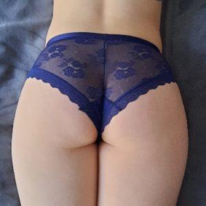 Panty ein blauer Traum