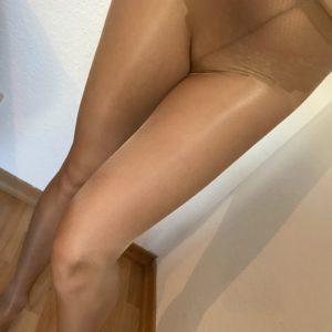 Sexy Nylonstrumpfhose