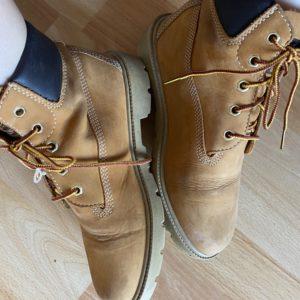 Getragene Schuhe/Boots von Timberland