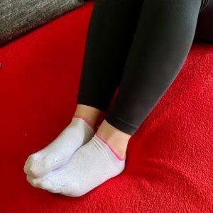 Meine weißen Sneaker Söckchen