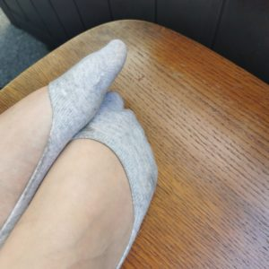 Ballerina-Söckchen in grau